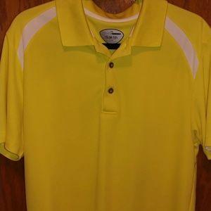 Men's large yellow short sleeve